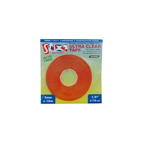 1/8High Tack Ultra Clear Tape