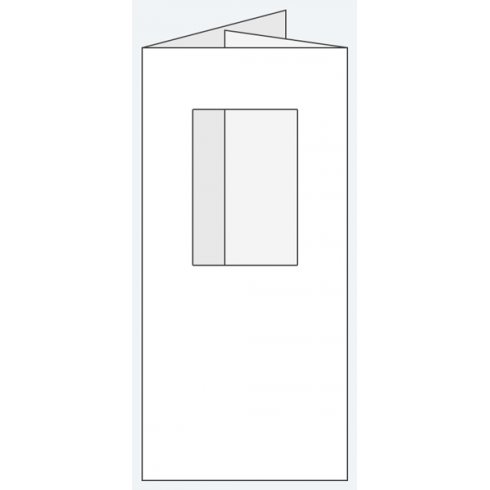 Craft Creations 100x210mm DF Oblong Aperture - Smooth White