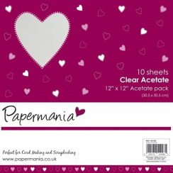 Papermania 12 x 12 Acetate Pack