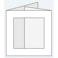 Craft Creations 144x144mm DF Square Aperture - Smooth White