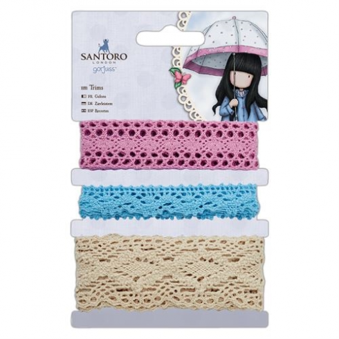 Docrafts 1m Trims - Santoro