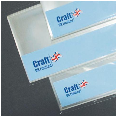 Craft UK 3x3 Cello Bags x 50