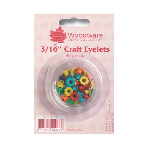 Woodware 40 Primary 3/16 Flower Eyelet
