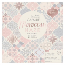 "Docrafts 6 x 6"" Paper Pack (32pk) - Capsule - Moroccan Haze"