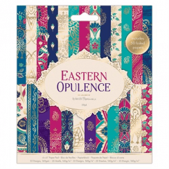 "Papermania 6 x 6"" Paper Pad (50pk) - Eastern Opulence"