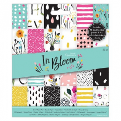 "Papermania 6 x 6"" Paper Pad (50pk) - In Bloom"