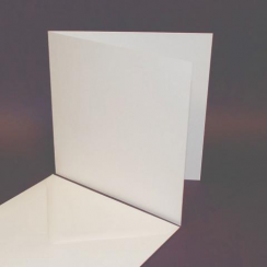 Craft UK 7x7 Cards & Envelopes - 25 Whi