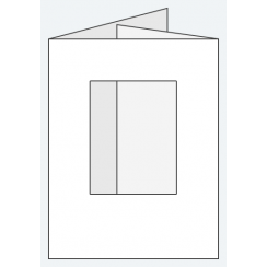 Craft Creations 88x114mm DF Small Ob Aperture - Smooth White