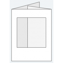 Craft Creations 88x114mm DF Square Aperture - Smooth White