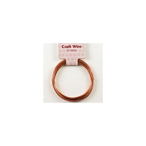 Woodware 8m Copper Craft Wire