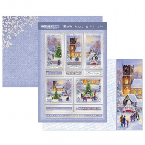 Hunkydory A Choral Christmas Luxury Topper Set