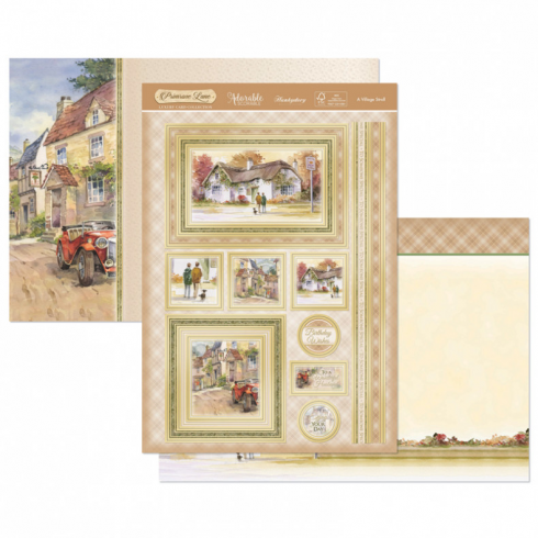 Hunkydory A Village Stroll Luxury Topper Set