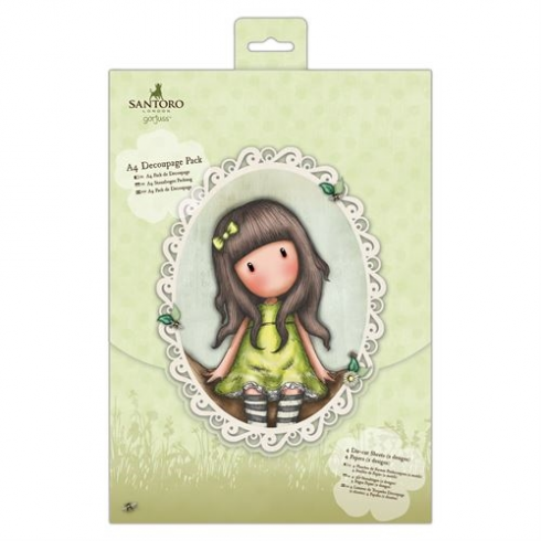 Docrafts A4 Decoupage Pack - Santoro