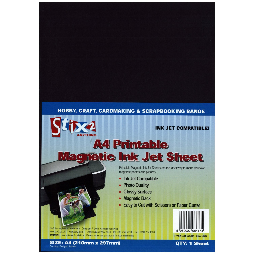 photograph regarding Printable Magnetic Sheets called A4 Printable Magnetic Sheets