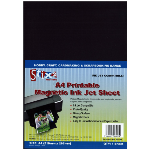 Stix 2 A4 Printable Magnetic Sheets