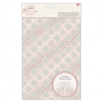 Docrafts A4 Vellum and Laser Cut Paper Pack (16pk) - Capsule - Moroccan Haze