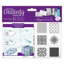 Docrafts A6 Clear Stamp Set (1pc) - Moroccan Tiles
