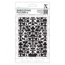 X-cut A6 Embossing Folder - Clover Leaves