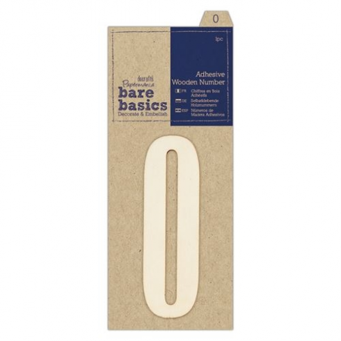 Papermania Adhesive Wooden Number