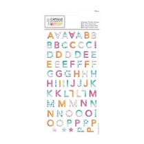 Docrafts Alphabet Thicker Stickers (169pcs) - Capsule Collection - Elements P