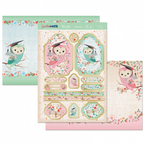Hunkydory As Wise As An Owl Topper Set