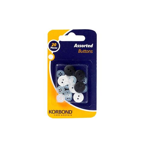 Korbond Assorted Buttons 20pcs