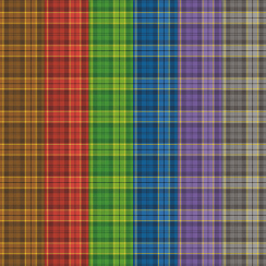 Craft Creations Assorted Tartans Background Papers