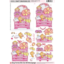 Craft Creations Baby Toys - Pink