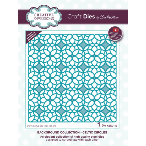 Sue Wilson Background Collection Celtic Circles