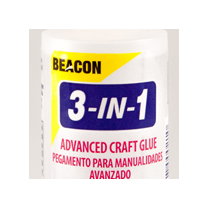 Beacon Adhesives Beacon 3 in 1 Advanced Craft Glue