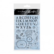 Hunkydory Blossoming Blues Stamp Set