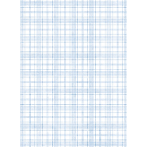Craft Creations Blue Tartan Pattern