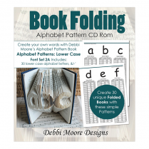 Debbi Moore Designs Book Folding Alphabet Set 2A Lower Case CD