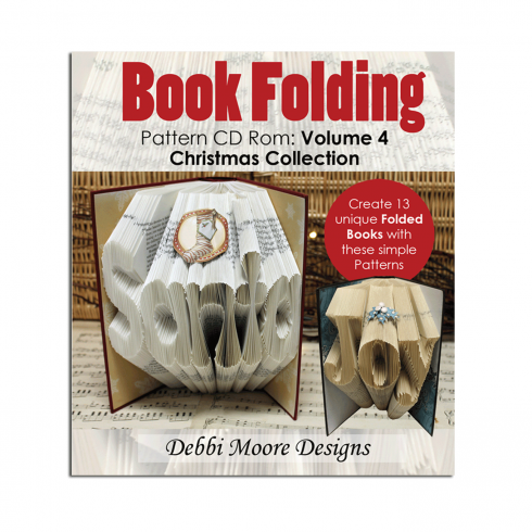 Debbi Moore Designs Book folding Volume 4 Christmas Collection