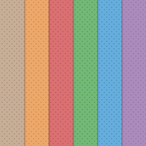 Craft Creations Bright Coloured Dots Background Papers
