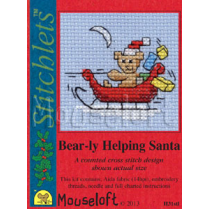 Mouseloft Card Christmas Stichlets -