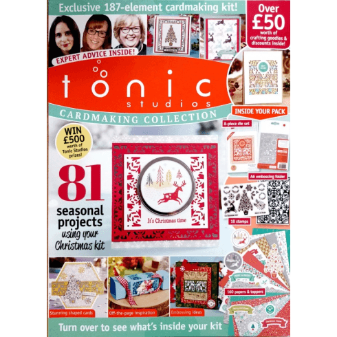 Tonic Studios Cardmaking Collection Magazine Issue 6