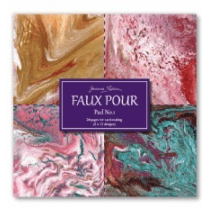 Joanna Sheen Cardmaking Collection Pad - Faux Pour Pad No.1