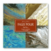 Joanna Sheen Cardmaking Collection Pad - Faux Pour Pad No.2