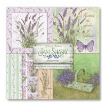 Joanna Sheen Cardmaking Collection Pad - Jane Shasky Lovely Lavender