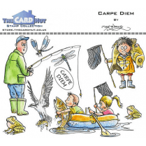 The Card Hut CARPE DIEM - STAMP SET