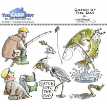 The Card Hut CATCH OF THE DAY - STAMP SET