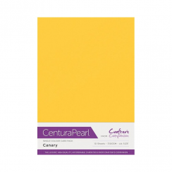 Centura Pearl Single Colour 10 Sheet Pack - Canary