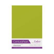 Centura Pearl Single Colour 10 Sheet Pack - Chartreuse