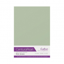 Centura Pearl Single Colour 10 Sheet Pack - Mint