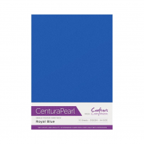 Centura Pearl Single Colour 10 Sheet Pack - Royal Blue