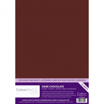 Centura Pearl Single Colour Dark Chocolate