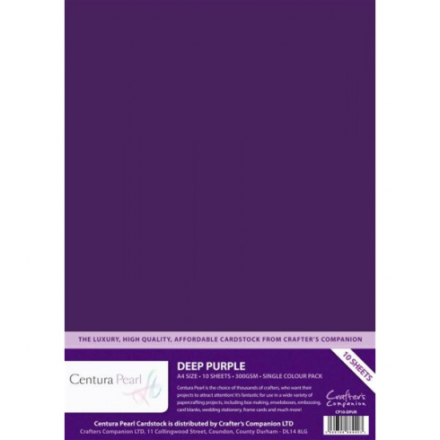 Centura Pearl Single Colour Deep Purple