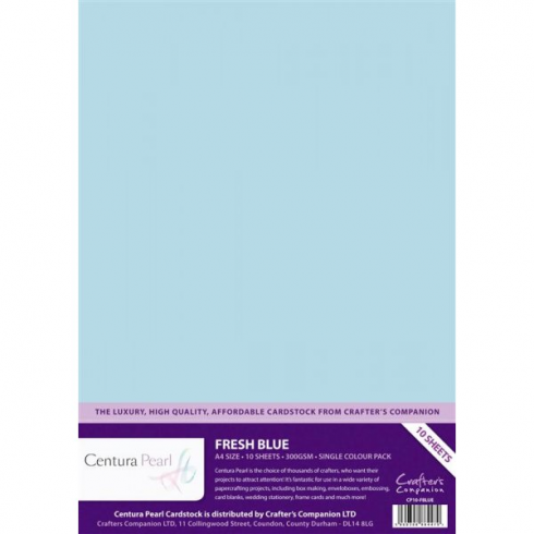 Centura Pearl Single Colour Fresh Blue BA1414