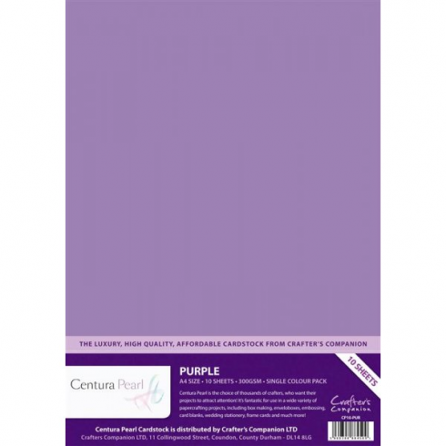 Centura Pearl Single Colour Purple